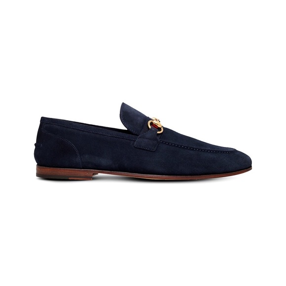 6f3f737ccb9 Gucci Other - GUCCI Elanor Horsebit Suede Loafers
